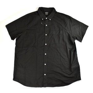 Bonobos NEW Sz XXL Short Sleeve Dress Shirt Black